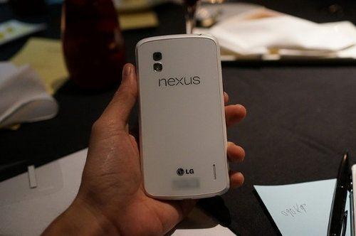 Se filtra el Nexus 4 de color blanco