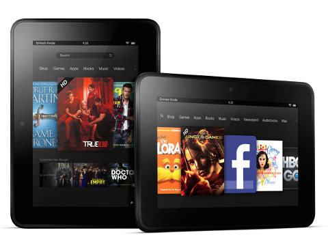 Amazon niega los rumores de un Kindle Fire de 100 dólares