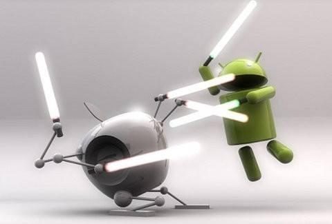 Apple contraataca y se burla del S IV