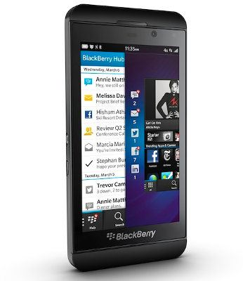 El gobierno alemán adquiere miles de unidades del BlackBerry Z10