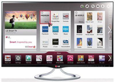 LG MT93, una smart TV 3D de 27 pulgadas