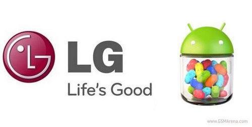 LG anuncia Jelly Bean para más móviles