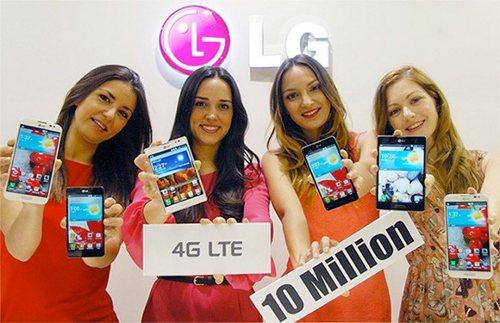 LG ya ha vendido 10 millones de smartphones LTE