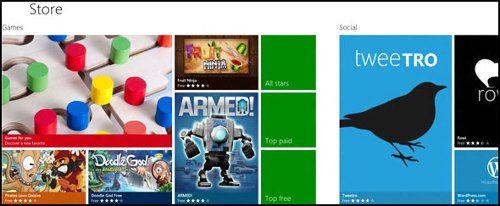 Más de 50.000 apps disponibles en la Windows Store