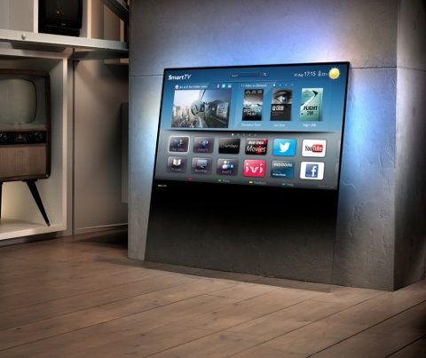 Mira la nueva DesignLine TV de Phillips