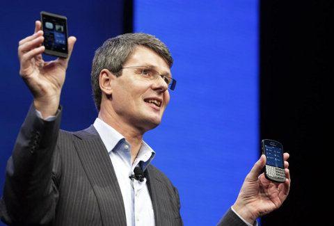 Según BlackBerry, el iPhone es anticuado