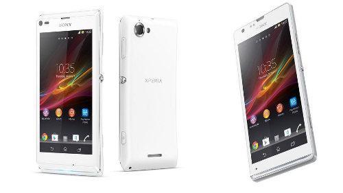 Sony anuncia el Xperia SP y el Xperia L