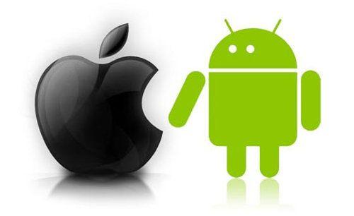 iOS y Android dominarán diferentes segmentos en 2013