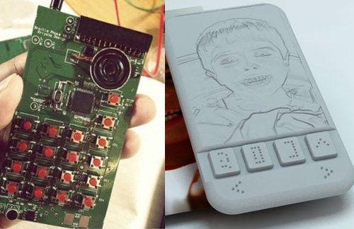 Avanza el desarrollo del primer smartphone braille para ciegos