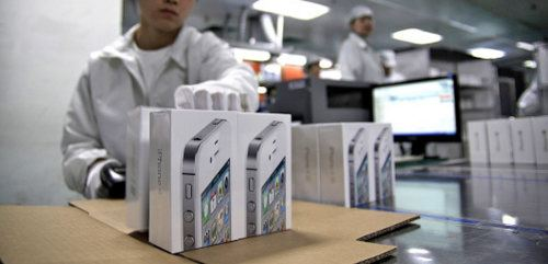 Las ganancias de Foxconn bajan debido a la poca demanda que tiene el iPhone