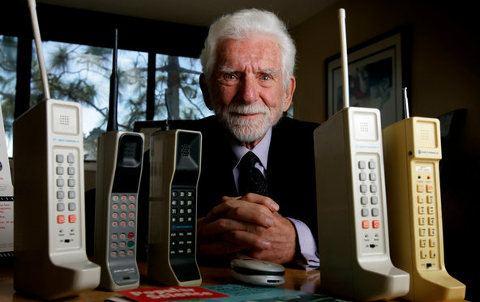 Los móviles cumplen 40 años