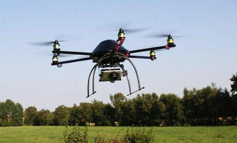 Metrocóptero, un dron para rescates creado en Argentina