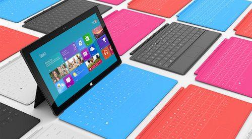 Microsoft lanzará un Surface de 7 pulgadas este año