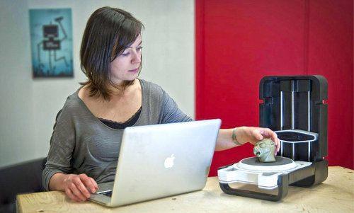 Photon, un escáner 3D portátil