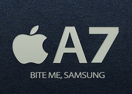 Samsung ya no producirá chips A7 para Apple