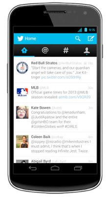 Twitter actualiza sus apps para iOS y Android