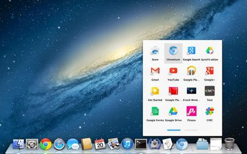 El lanzador de apps de Chrome OS llega a Mac OS X