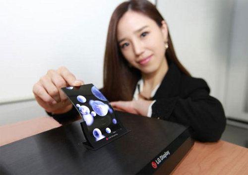 LG presentará su pantalla OLED flexible en estos días