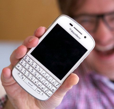 Las ventas del BlackBerry Q10 explotan en Francia
