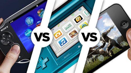 Nintendo 3DS, PS Vita o iOS
