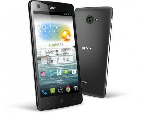 Acer estrena un tablet Windows de 8,1 pulgadas y un smartphone Android de 5,7 pulgadas
