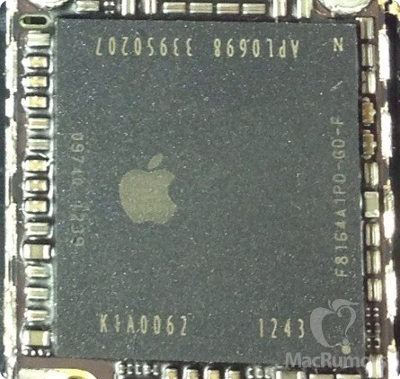 El iPhone 5S incorporaría un chip A7