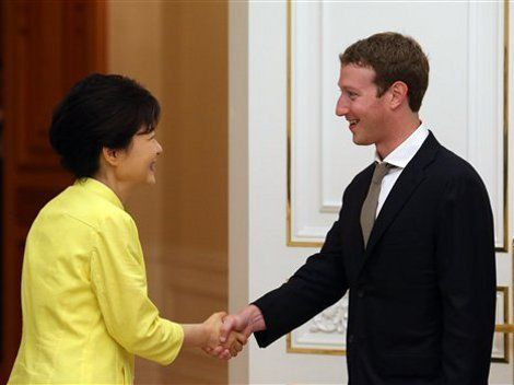 Facebook podría llegar a asociarse con Samsung