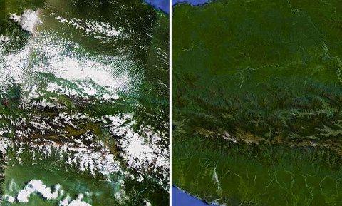 Google Earth mejora su resolución y quita las nubes del medio