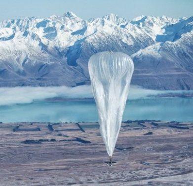 Google usa globos para llevar el Internet a lugares lejanos