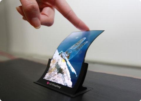 LG Display comenzará a fabricar pantallas flexibles a fines de este año