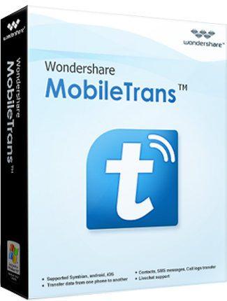 Mobiletrans genial software para transferir datos de un móvil a otro por medio de nuestra PC