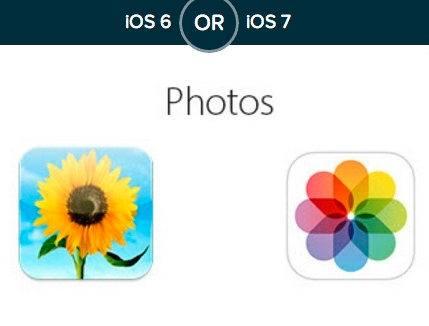 Prefieres los iconos de iOS 7 o los de iOS 6