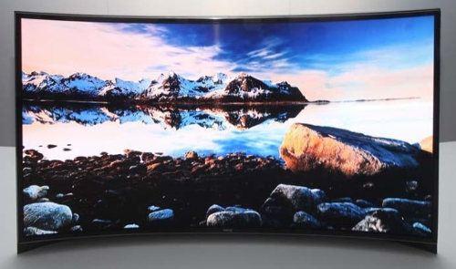 Samsung estrena su nueva TV OLED con pantalla curva