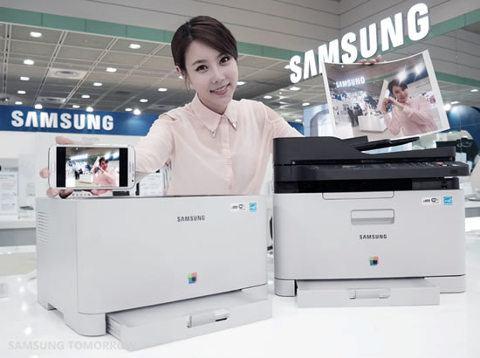 Samsung introduce la primera impresora láser a color con conectividad NFC