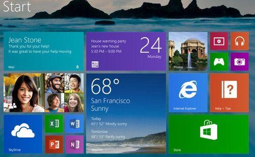 Un pequeño vistazo al nuevo Windows 8.1