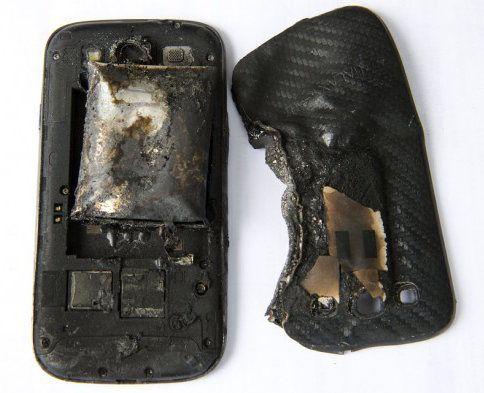 El Galaxy S III de una joven explota en su bolsillo
