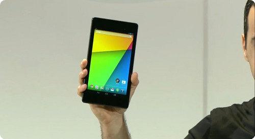 Google introduce oficialmente al nuevo Nexus 7