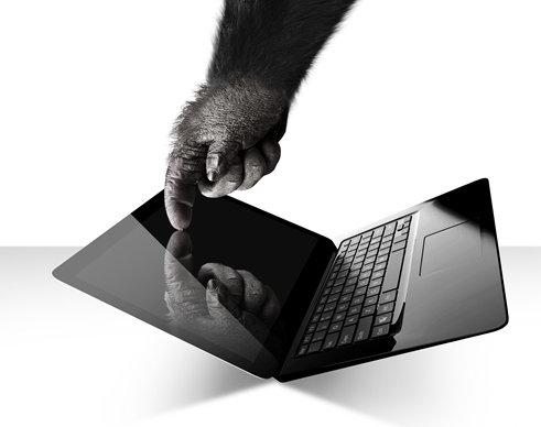 Gorilla Glass NBT el nuevo vidrio de alta resistencia para laptops con pantalla touch