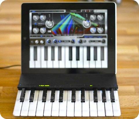 Hora de convertir a tu iPad en un teclado electrónico