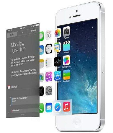 La beta de iOS 7 parece estar muy a la moda
