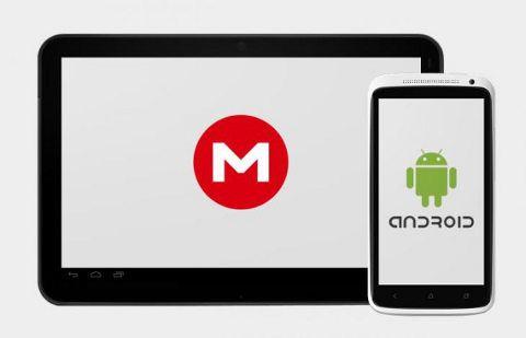 Mega ahora disponible en Android