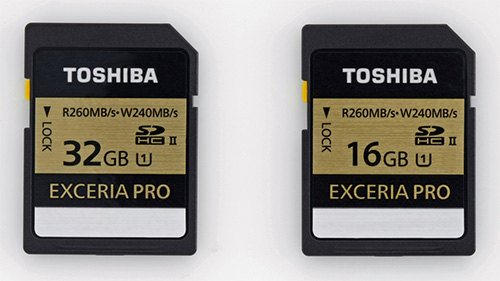 Toshiba introduce las memorias SD más rápidas del mundoToshiba introduce las memorias SD más rápidas del mundo