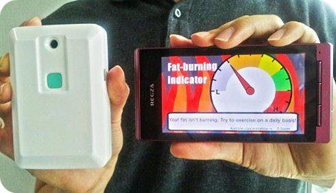 Un nuevo sensor para Android te indica si realmente estás quemando grasa