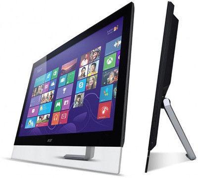 Acer estrena nuevo monitor multitouch de 27 pulgadas