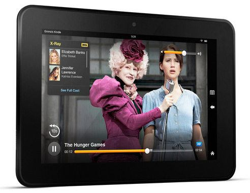 Detalles de los nuevos tablets Kindle Fire HD de Amazon