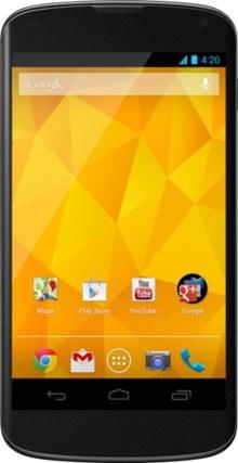 El Nexus 4 recibe una rebaja del 25 en diversos países