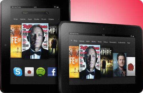 Especificaciones del nuevo Kindle Fire HD de Amazon