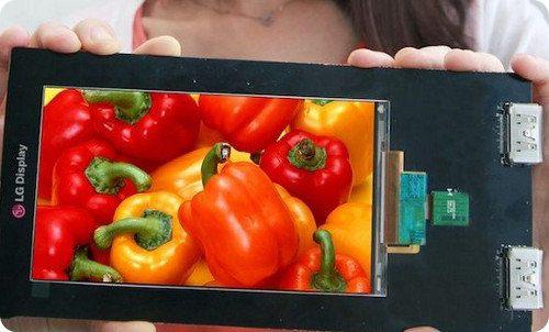 LG presenta la primera pantalla QHD de 5,5 pulgadas