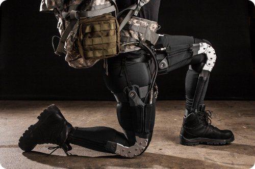 La DARPA prepara un traje robótico para soldados