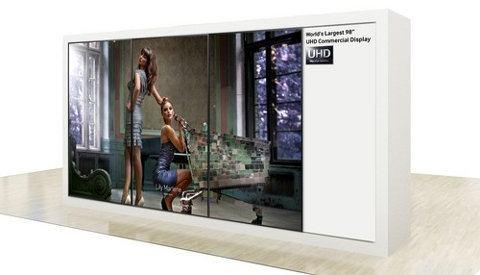 Samsung podría estrena una pantalla de 98 pulgadas